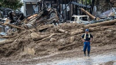 Japonya'da sel ve toprak kayması nedeniyle 141 kişi hayatını kaybetti