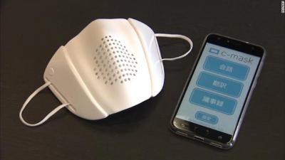 Japonya'dan akıllı maske: 8 dilde çeviri yapıyor