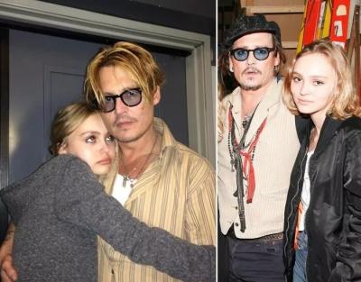 Johnny Depp: Kızım ilk esrarını yanımda içti