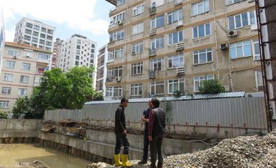 Kadıköy'de 6 katlı bir bina boşaltıldı