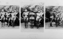 İnsanat bahçesi! Kadınların kalçasını görmek için...