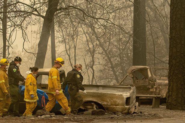 Kaliforniya'da yangın: 63 ölü, 631 kayıp