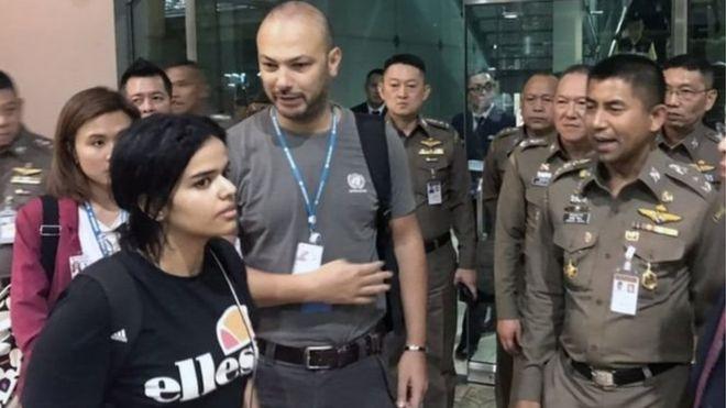 Kanada, ailesinden kaçan Suudi kadının sığınma talebini kabul etti