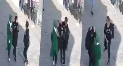 Karaköy'de genci darp eden kadın adliyede