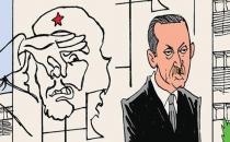 Karikatürist Latuff, Erdoğan'ın Küba ziyaretini çizdi!