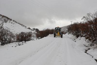 Kastamonu'da 163 köy yolu ulaşıma kapandı
