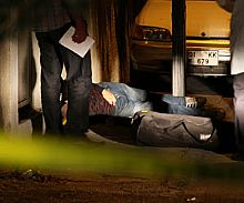 Katil damadın cesedi sokakta bulundu!