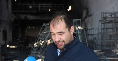 Kayseri'de İşçi fabrikayı ateşe verdi, ortaklar ağladı