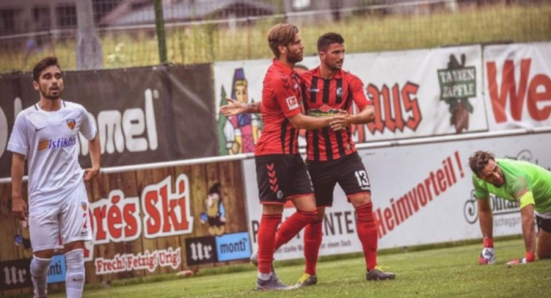 Kayserispor 9 gol yedi, hakem maçı 60. dakikada bitirdi