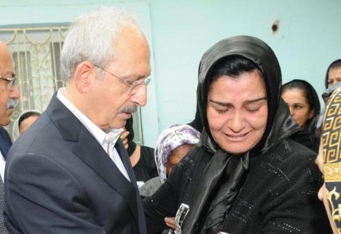 Kılıçdaroğlu Ahmet Atakan'ın ailesini ziyaret etti!