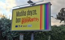 Kıbrıs'ta LGBTİ ilan panolarına saldırı!