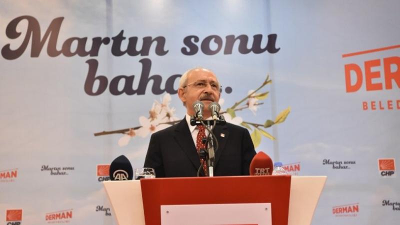 Kılıçdaroğlu: İşsizlik her evin sorunu