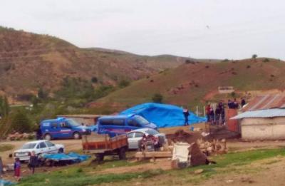 Kırıkkale'de oyun oynayan çocuklar havan mermisi buldu
