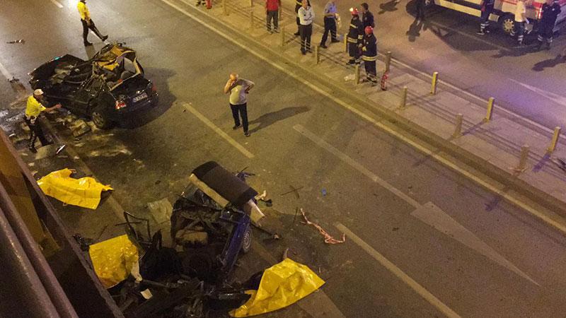 Konya'da trafik kazasında 7 ölü