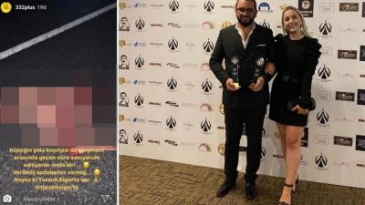 Köpeği ezip paylaşan katile 'Yılın En İyi Reklamcısı Ödülü' verildi