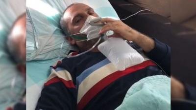 Koronavirüs hastası: Maske takmayanlara hakkımı helal etmiyorum