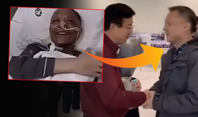 Koronavirüs nedeniyle ten rengi değişen doktor, normale döndü