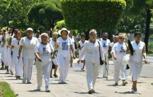 Küba'daki 'Beyaz Giyen Kadınlar'dan açıklama