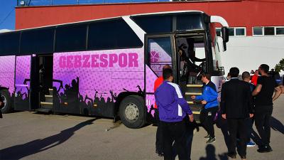 Küme düşen takımın otobüsü futbolcuları statta bırakıp gitti