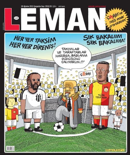 Olaylı Beşiktaş - Galatasaray derbisi Leman kapağında!