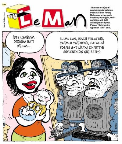 LeMan dergisi Pucca'yı kapağına taşıdı
