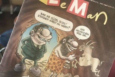 Leman dergisinden zamlanan kağıt fiyatlarına protesto