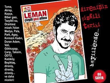 Leman'dan çizgili Gezi Atlası!