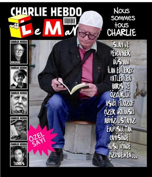 Leman'dan Charlie Hebdo özel sayısı !