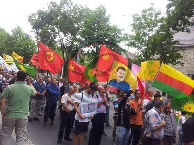 Lice katliamı Zürih'te protesto edildi
