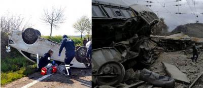 Malatya'da tren, Tekirdağ'da piknik kazası