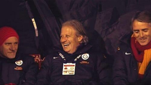 Sabri'nin golünden sonra Mancini ve Tugay!