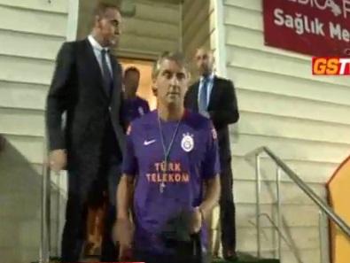 Mancini ilk antrenmanda!