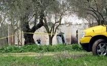 Manisa'da yakılmış kadın cesedi bulundu!