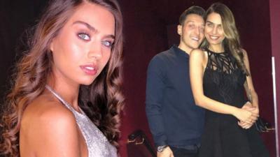 Mesut Özil nişanlısı Amine Gülşe'nin doğum gününü kutladı