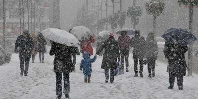 Meteoroloji tarih verdi; karlı günler geri dönüyor