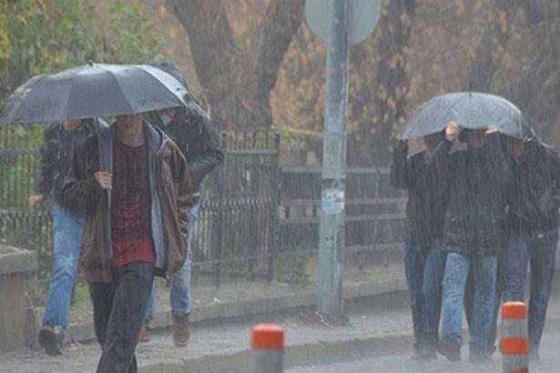 Meteoroloji'den sağanak ve kuvvetli rüzgâr uyarısı