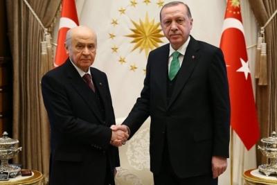 MHP ve AKP ittifak için anlaştı