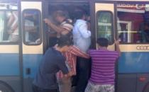 Minibüs şoföründen kadın yolcuya sözlü taciz!