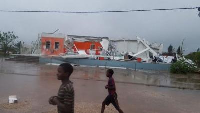 Mozambik'te kasırga sonrası can kaybı artıyor
