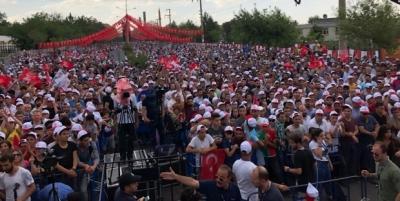 Muharrem İnce Diyarbakır'da: Kalabalığın sonunu göremiyorum...