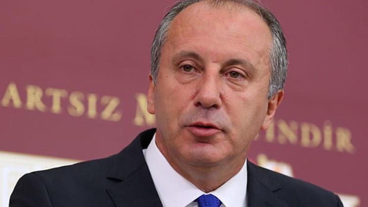 Muharrem İnce: Türkiye'nin kasası damada teslim edilmiş