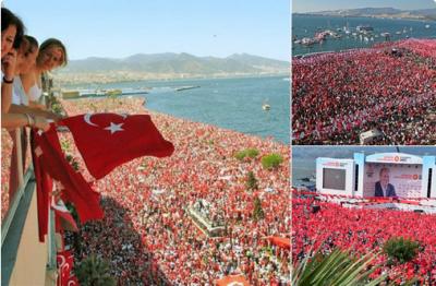 Muharrem İnce'nin İzmir mitinginde yapılan anons: 2,5 milyon kişi katıldı!