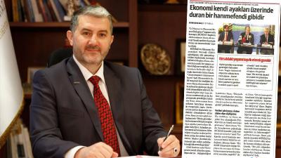 MÜSİAD Başkanı'nın 'Ekonomi kendi ayakları üzerinde duran bir hanımefendi gibidir' sözleri tepki gördü