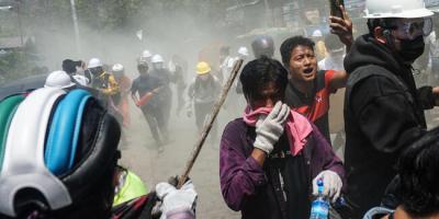 Myanmar'da darbe karşıtı gösterilerde 38 kişi öldü