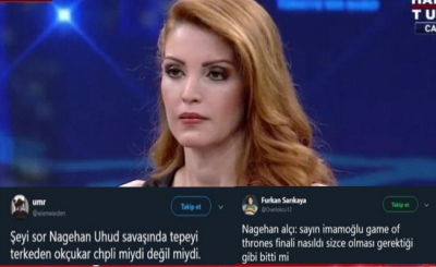 Nagehan Alçı'nın Ekrem İmamoğlu'na sorduğu sorular tartışmaya neden oldu