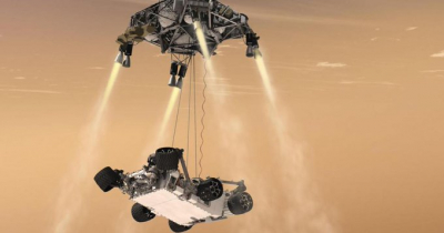 NASA, Mars'taki uzay aracının 'vesikalık' fotoğrafını yayımladı