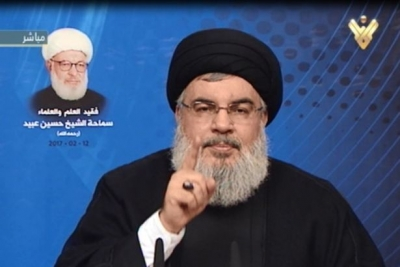 Nasrallah: Beyaz Saray'da bir aptalın olmasından dolayı çok iyimseriz