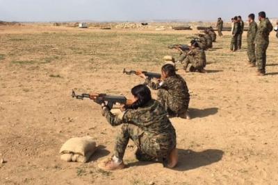 New York Times: Menbic'deki milisleri ABD eğitiyor