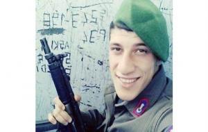 Nöbette vurulmuş halde bulunan asker hayatını kaybetti