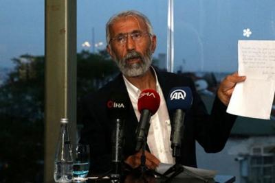 Öcalan'ın mektubunu okuyan Özcan: Önce Erdoğan'la görüştüm